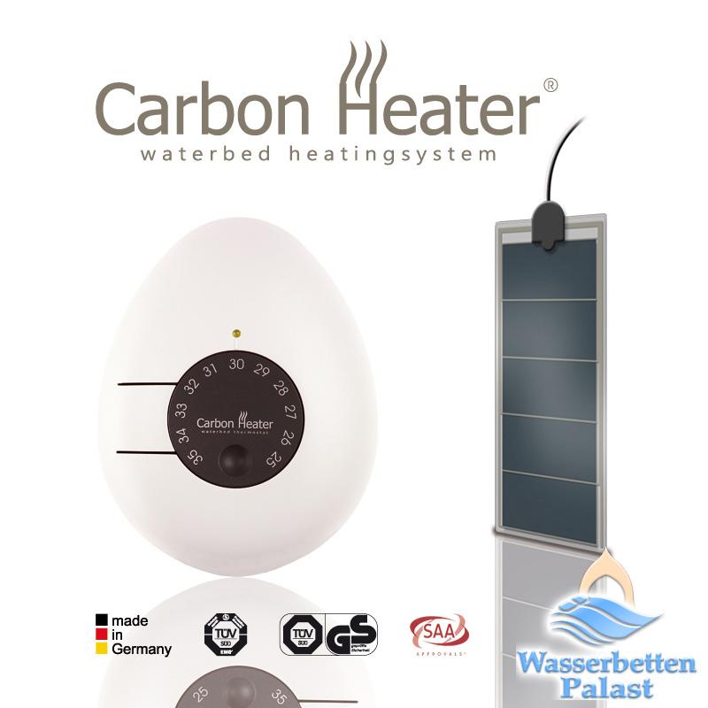 """Carbon Heater Classic Wasserbettheizung """"LS"""" - 240 Watt"""
