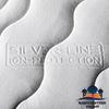 Premium Comfort Wasserbettbezug Wasserbettauflage Silver-Line ION-Protection