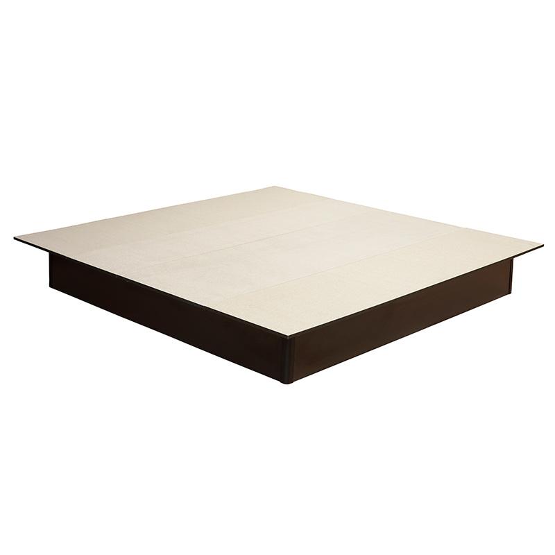 Standard-Holzsockel 200x210 Aluminium