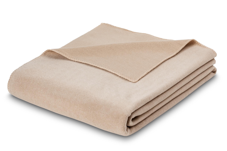 Premium-Fleecedecke Estella Trevi 8603 180 sand 160x200 cm