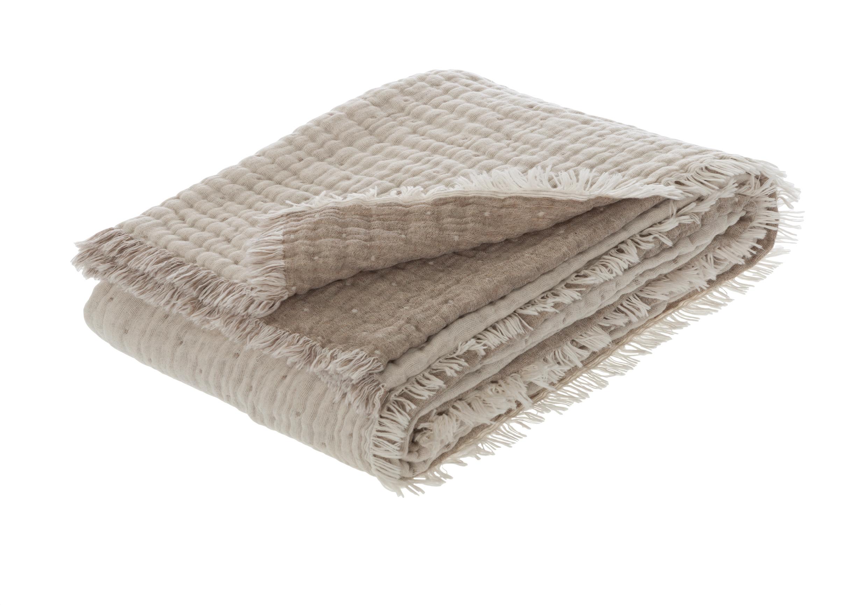 Premium-Plaid Mit Wolle Levanto 8607 150x200 cm